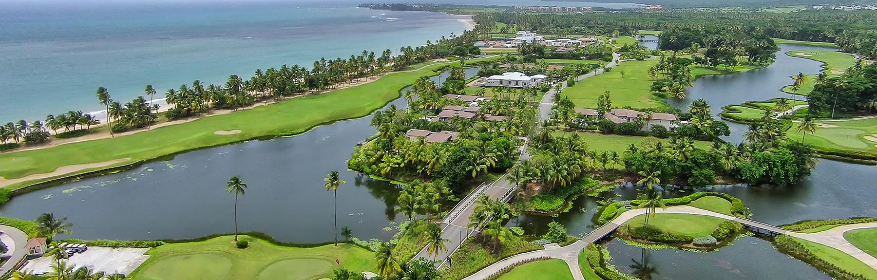 Golf Course Aerial - The St. Regis Bahia Beach Resort, Rio Grande, Puerto Rico