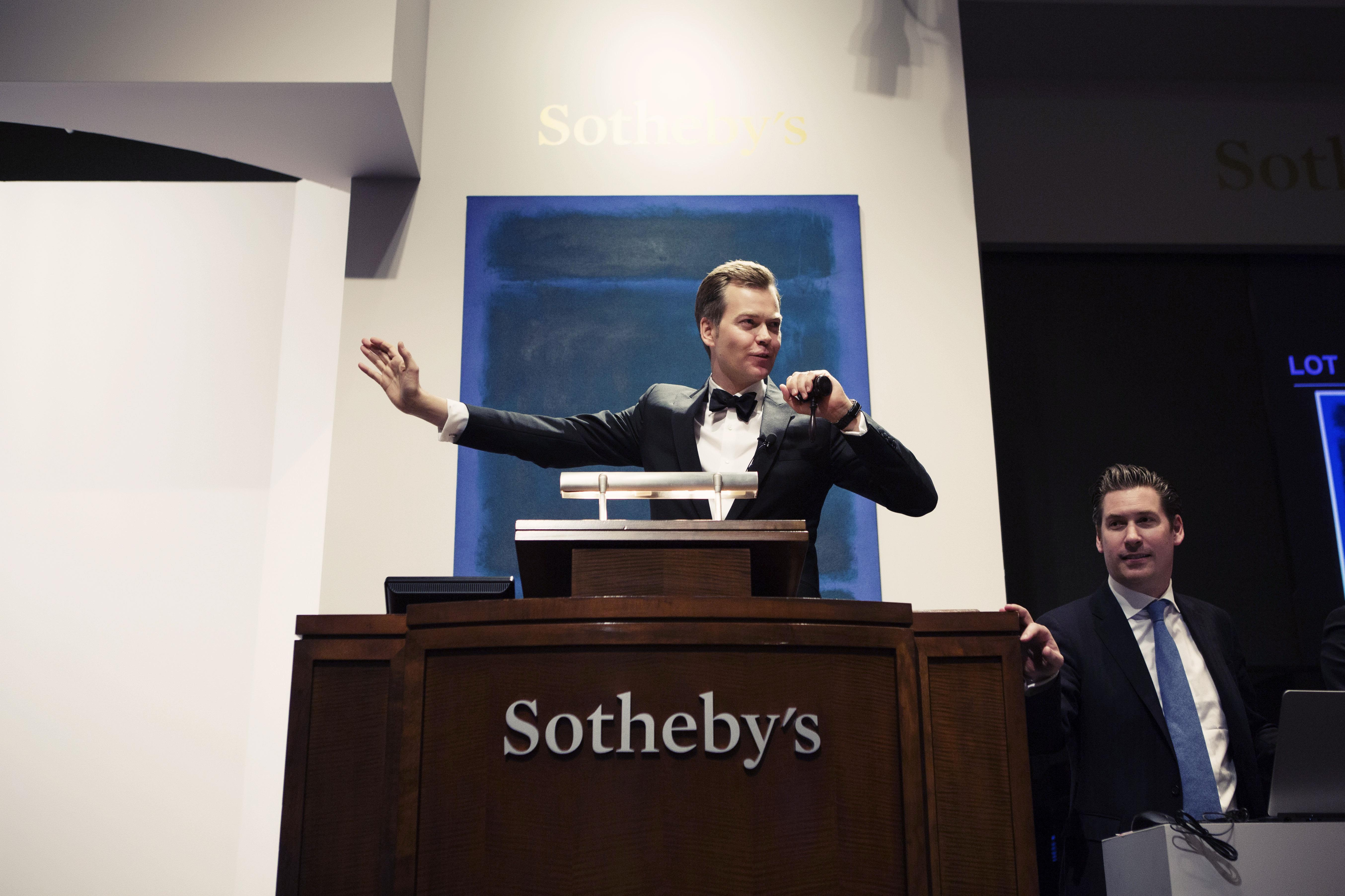 Auctioneer - Sotheby's Auction House