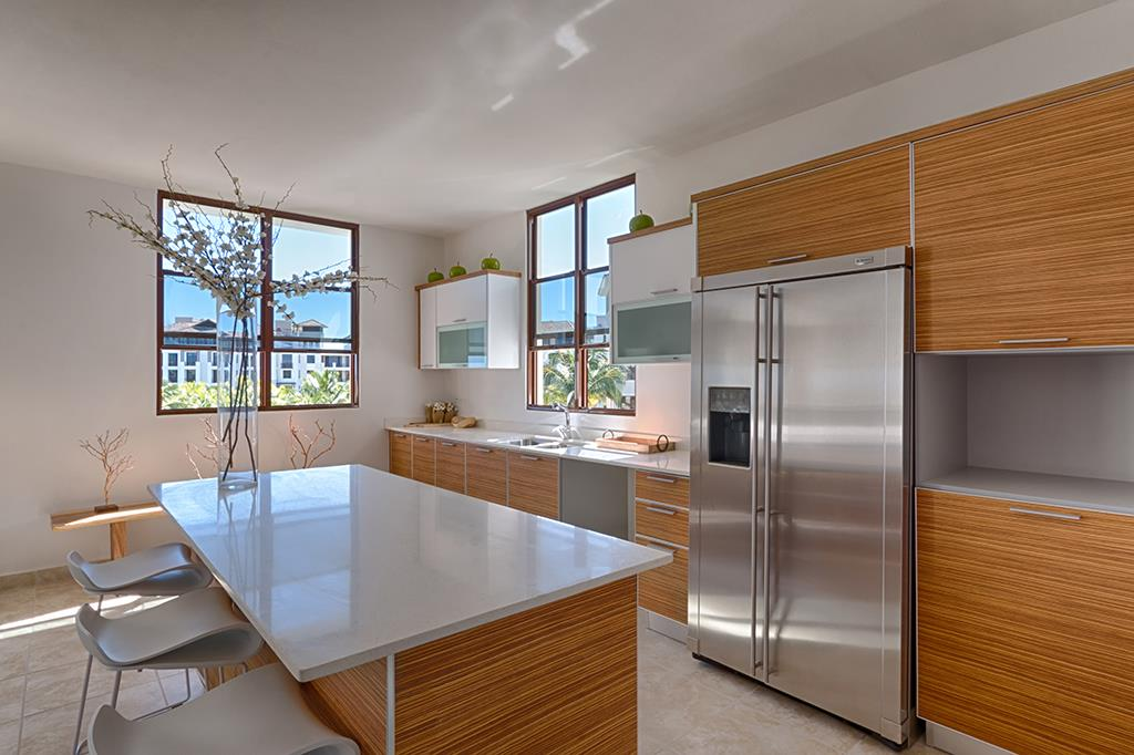 Modern kitchen Designs - Spacious Open-Air Living Room – Solarea Beach Resort, 238 Candelero Dr, Palmas del Mar, Humacao, PR, 00791